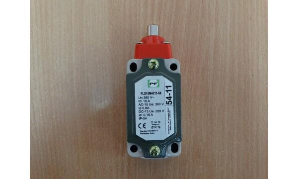 Galinės padėties išjungiklis FLS 15M 54 11 (stūmoklinis) IP54
