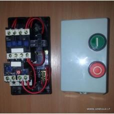 Magnetinis paleidiklis dėžutėje su mygtukais 220V 12A