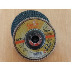 Žiedlapinis metalo šlifavimo diskas SLTR d125 ZK60