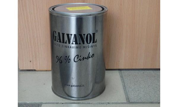 Šalto cinkavimo mišinys Galvanol 1 litro (2 kg)