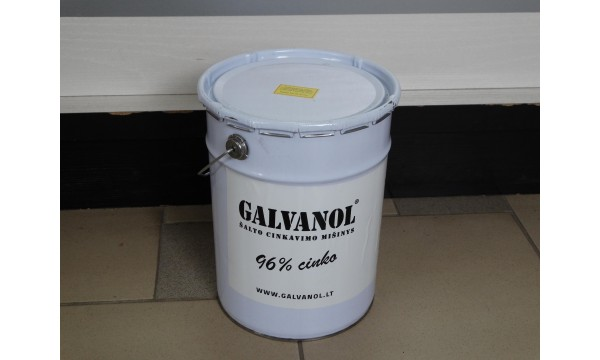 Šalto cinkavimo mišinys Galvanol 5 litro (10 kg)