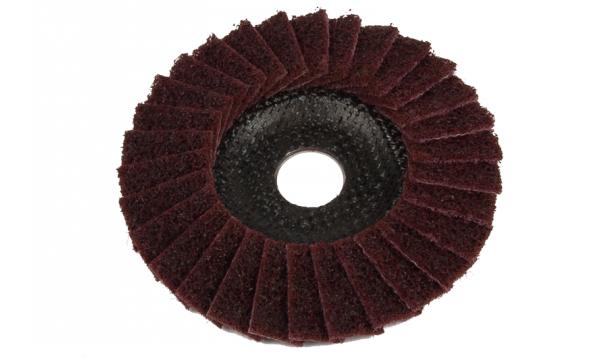 Diskas nerūdijančiam plienui šlifuoti 125x22 (suguldyti veltinio lapeliai)